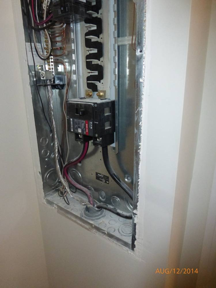 One Year Warranty Inspection - The Electric Panel Box S