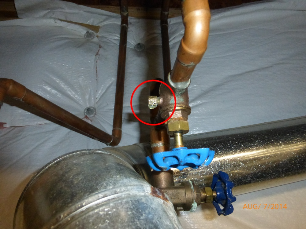 The Indoor Hose Bib Shut Off Valves Need To Be The Righ