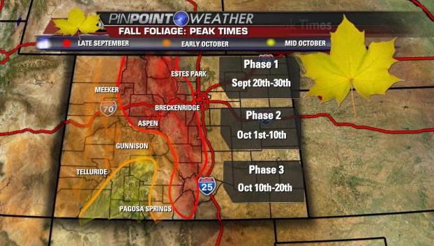 Colorado Fall Foliage Viewing Maps