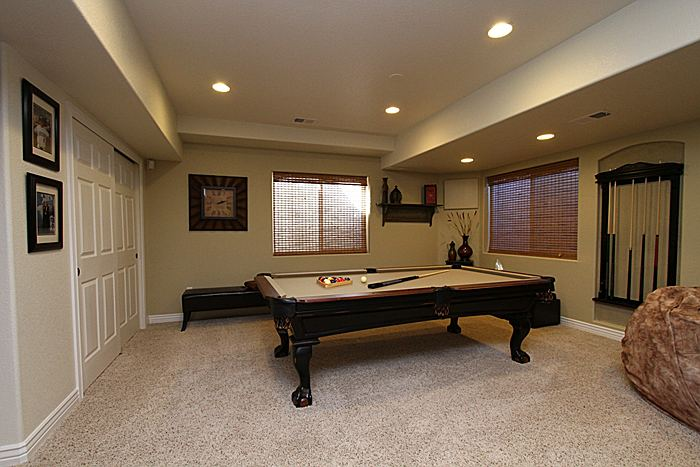 Game room Pool tables & Q u0026 A - What is the meaning of Walk-out Garden or Cellar Basements
