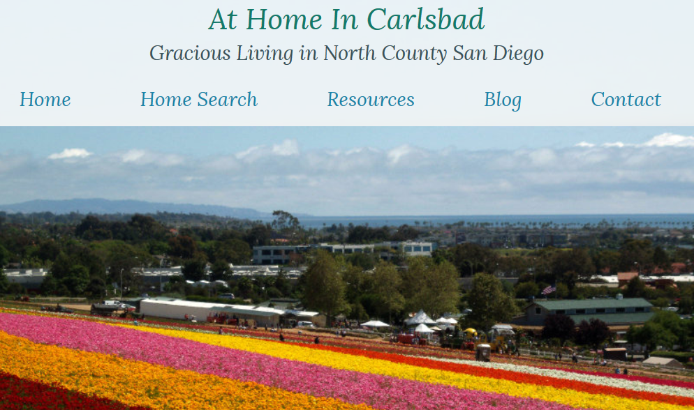 At Home In Carlsbad blog