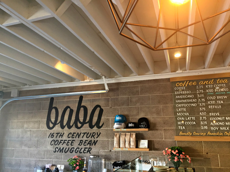 Baba Coffee in Carlsbad