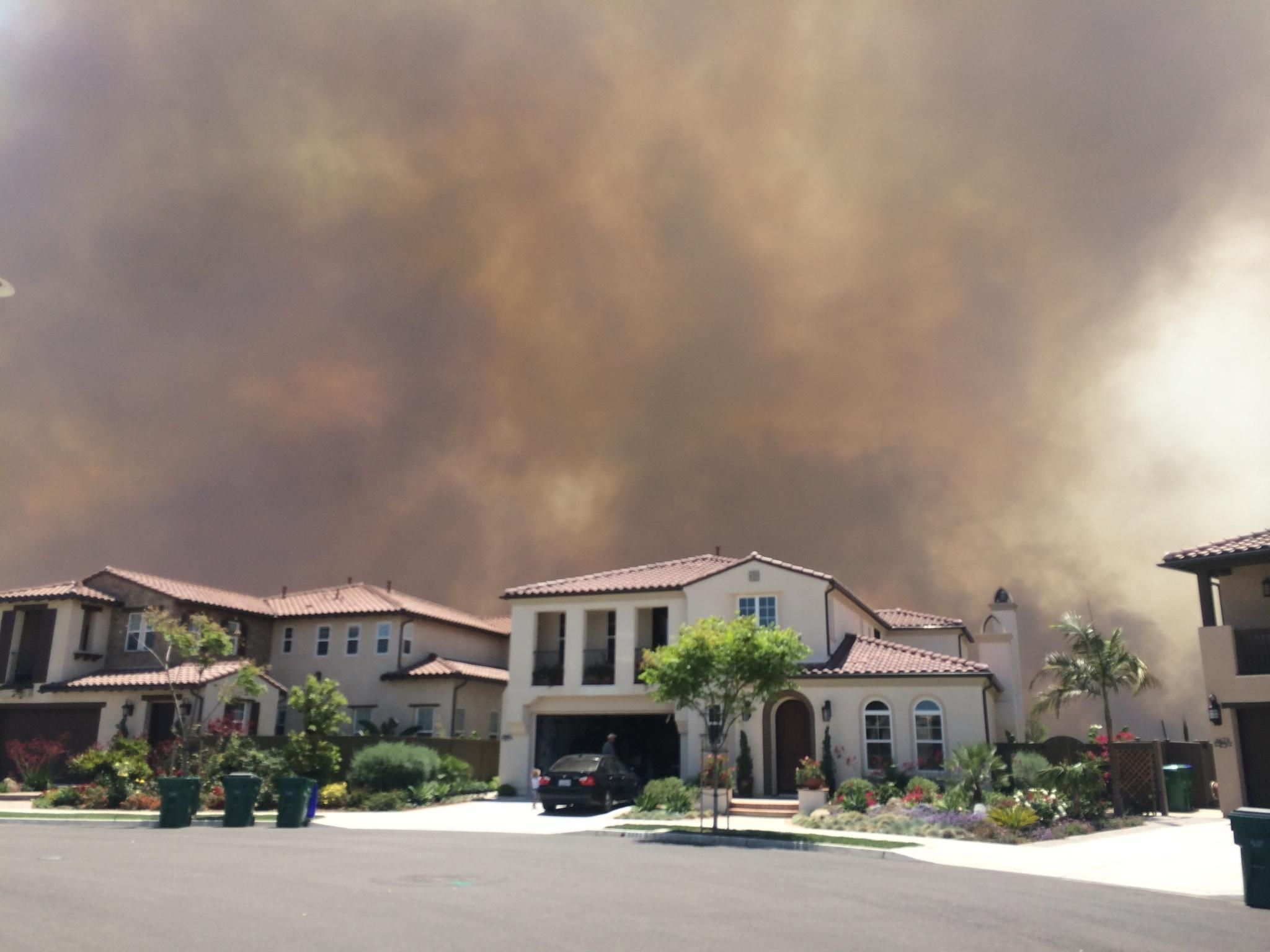 Carlsbad fires 2014