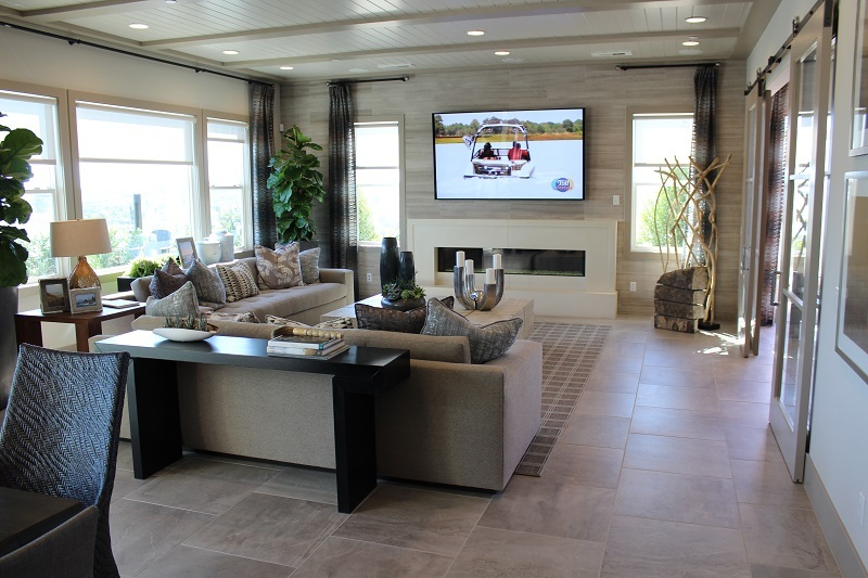 Family Room at The Bluffs