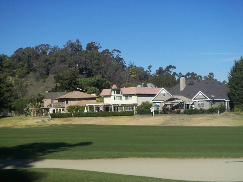 Golf course home in Rancho Santa Fe