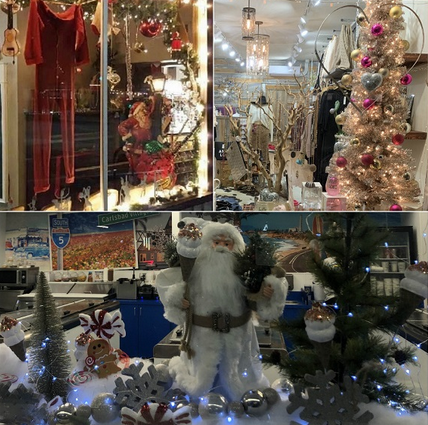 Carlsbad Village Holiday Window Display Contest winners 2019