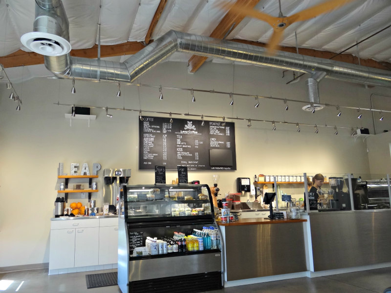 Leap Coffee in Carlsbad