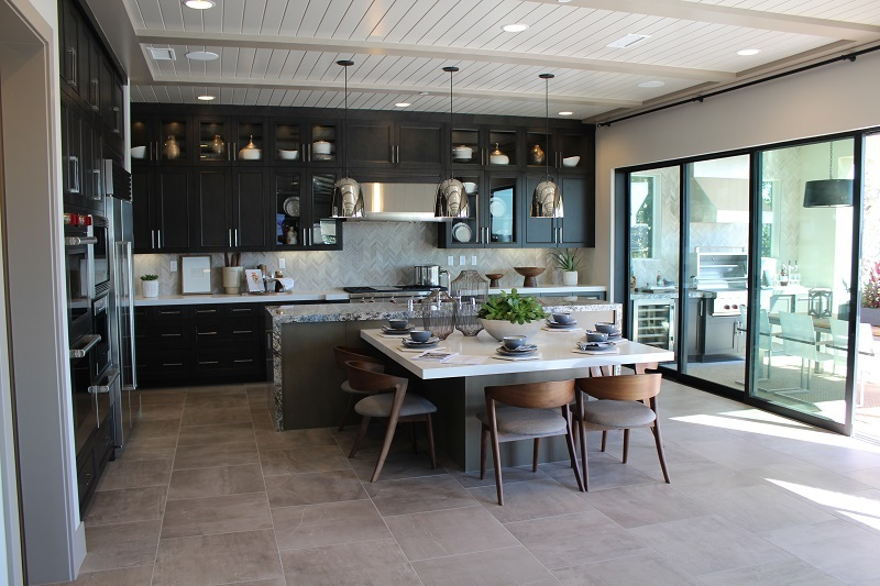 Kitchen at The Bluffs in Carlsbad
