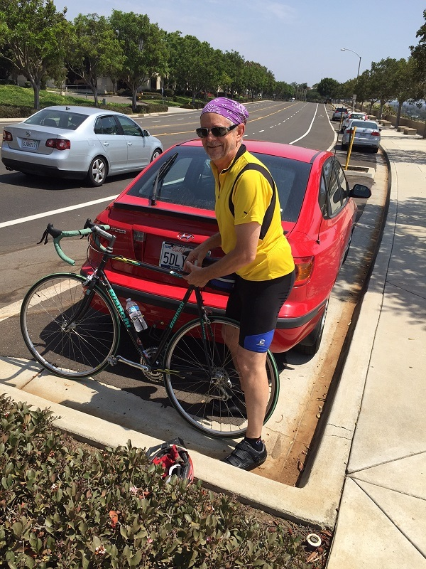Me and my bike in Carlsbad