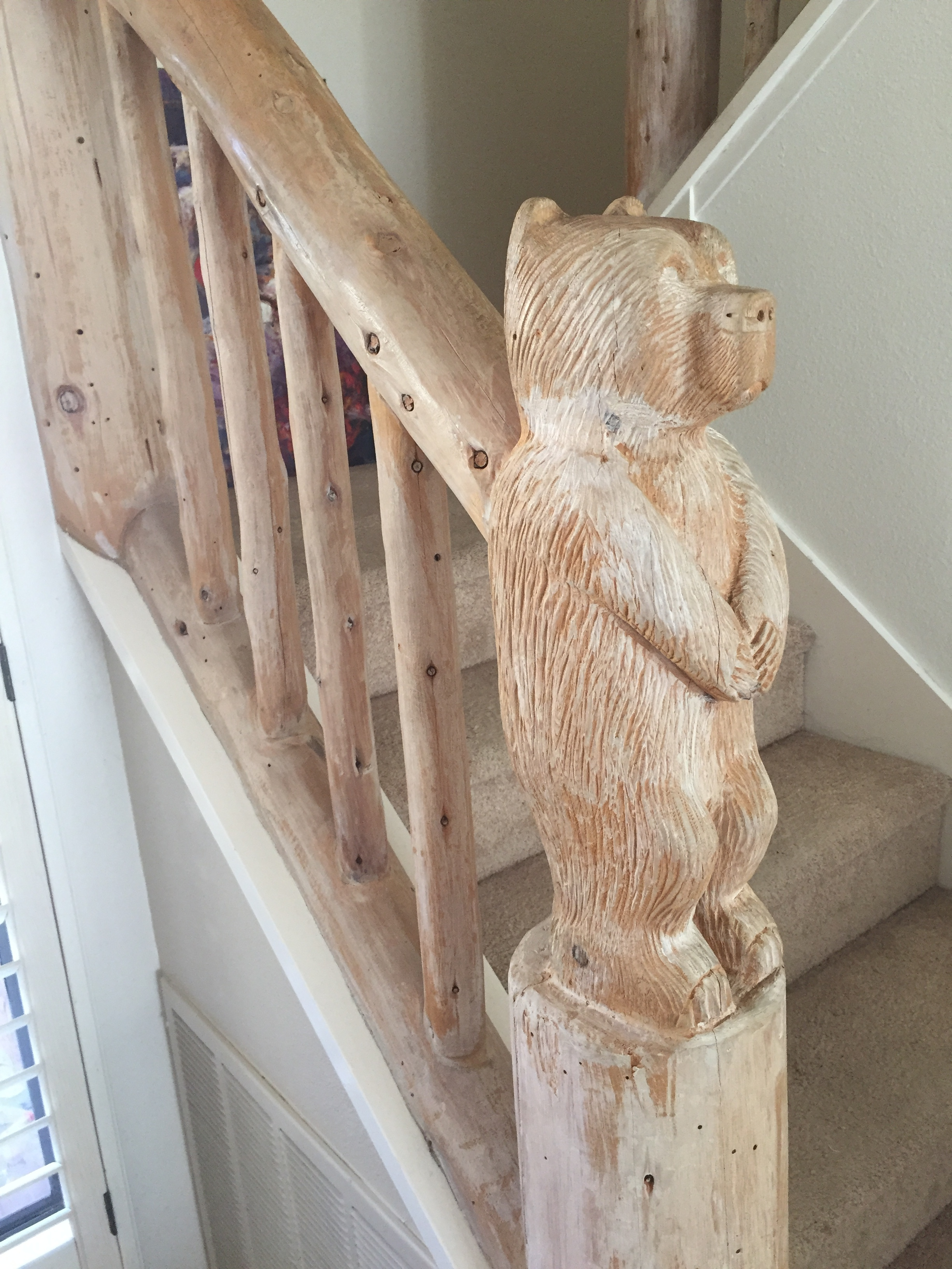 Our carved bear