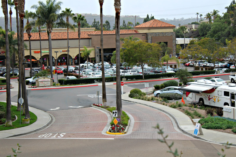 Plaza Real Shopping Center near the La Costa Collection
