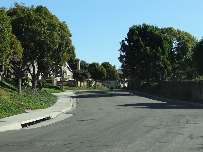 Street at The Cape in Calavera Hills
