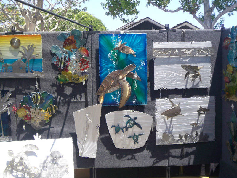 Art in the Village fair in Carlsbad