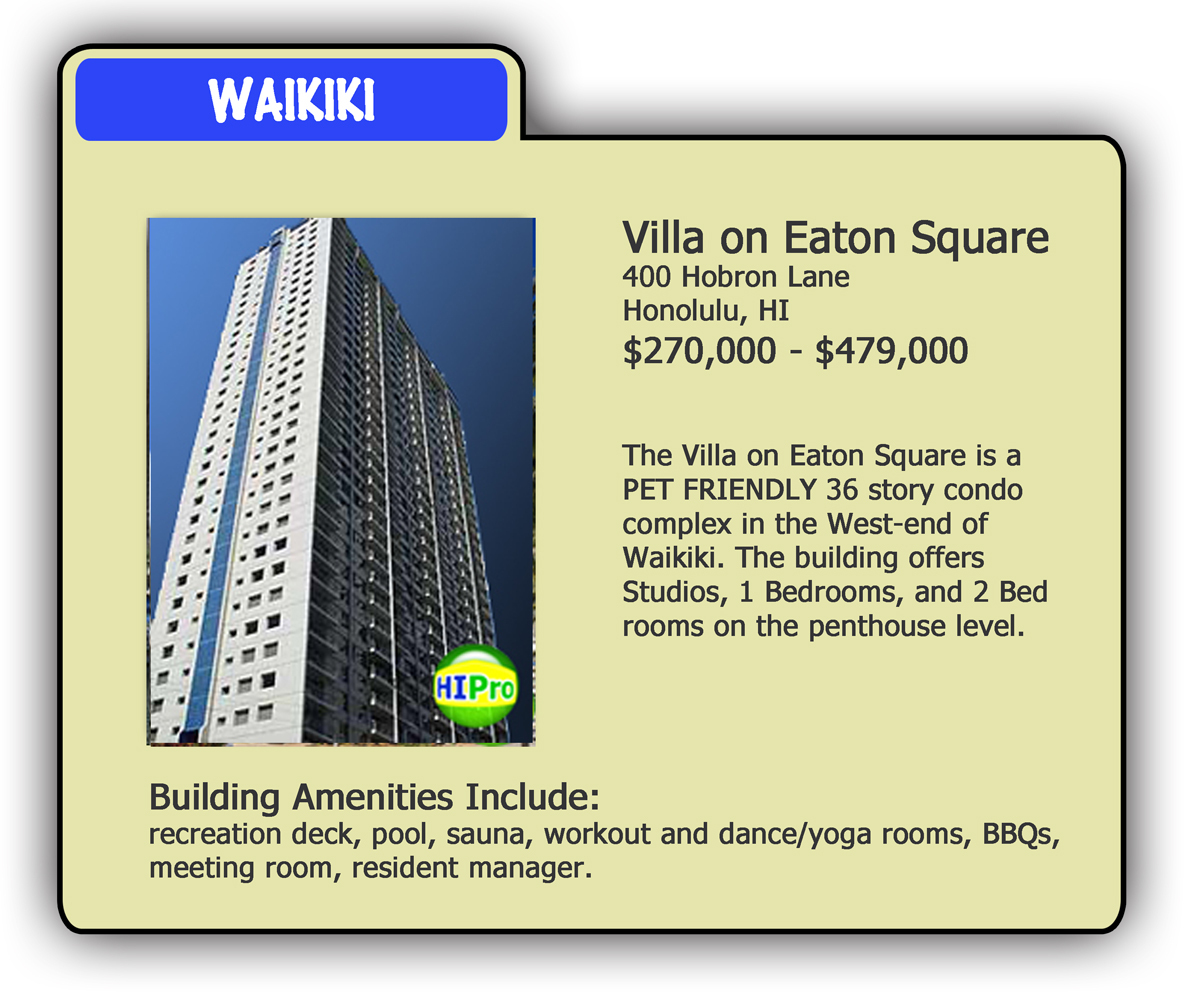 Villa on Eaton Square - Pet Friendly Condo Card - HI Pro Realty LLC
