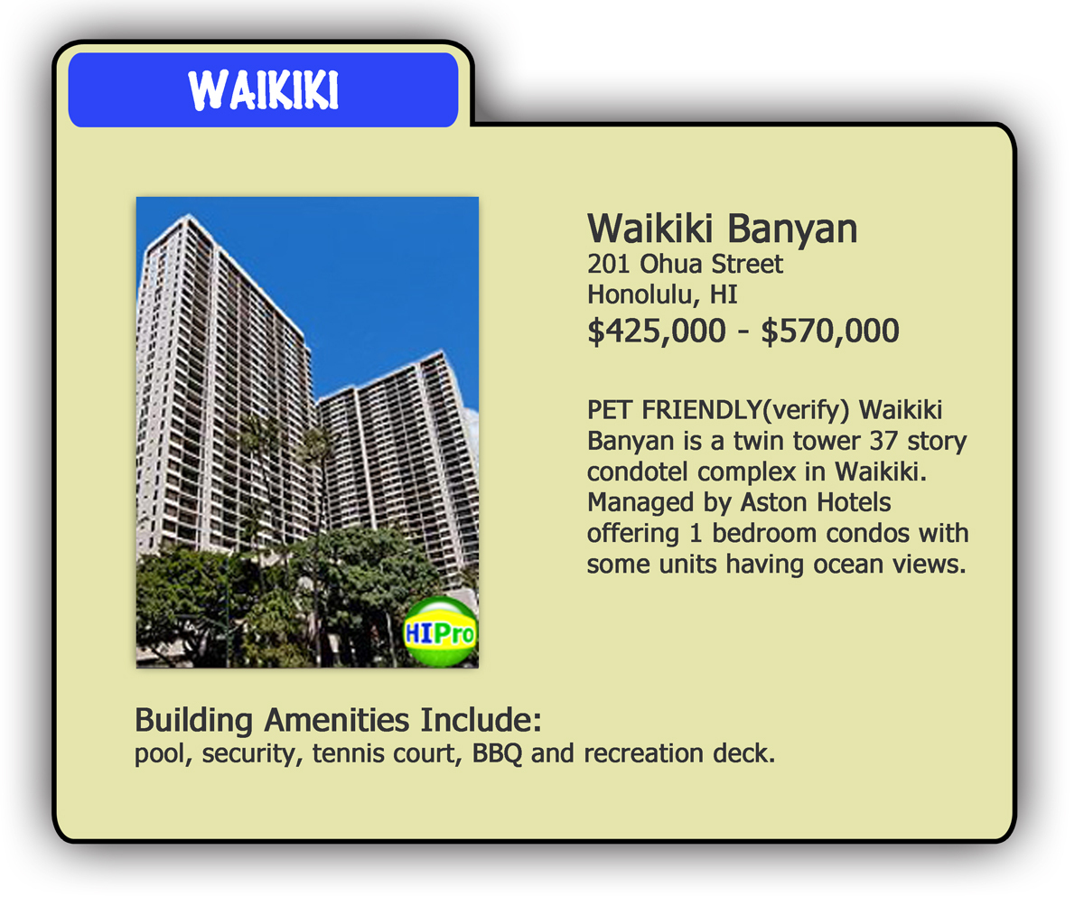 waikiki wiki your pet friendly condo resource and guide