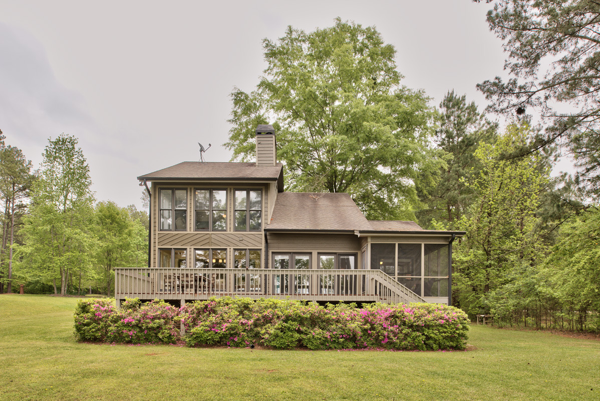 Lake Oconee lake house sold cheap