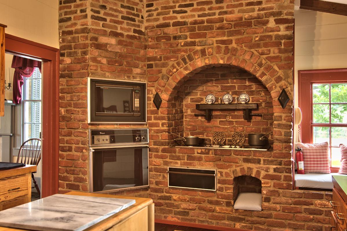 C. 1840 home kitchen
