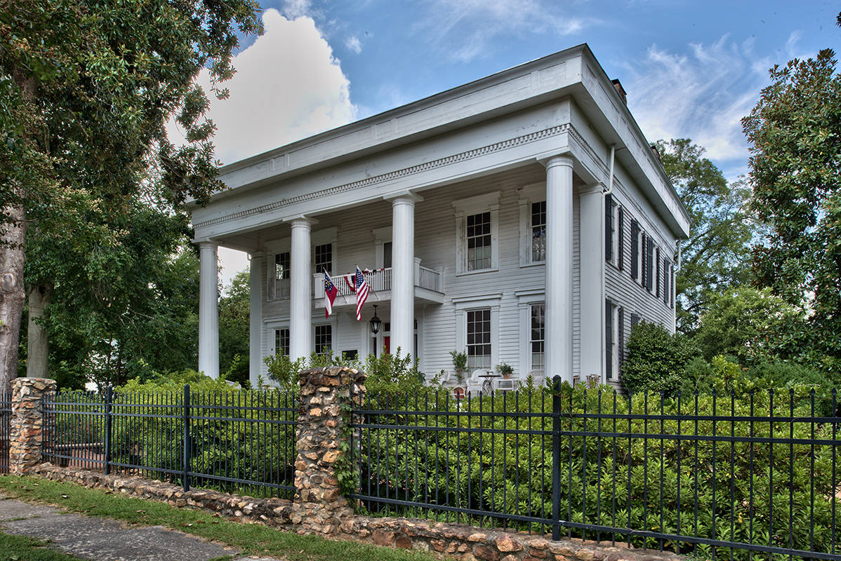 Does your historic home for sale include a ghost for Historic homes for sale in georgia