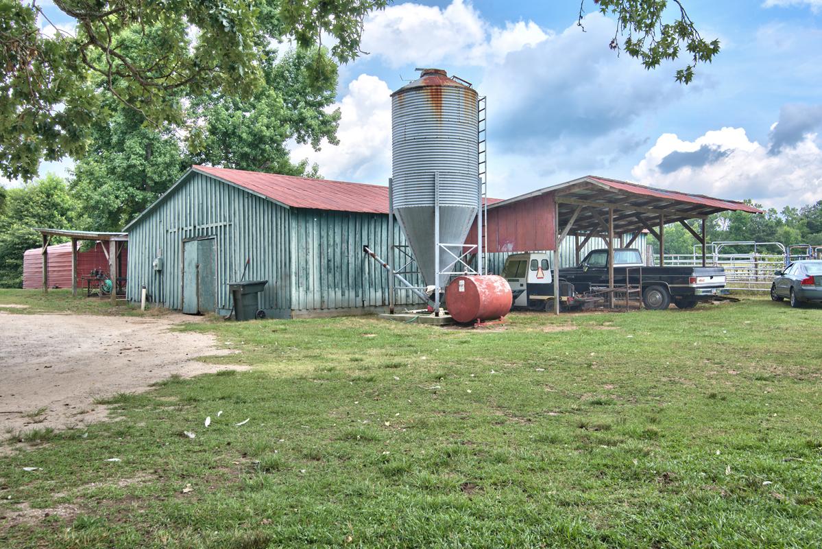 historic farm outbuilding