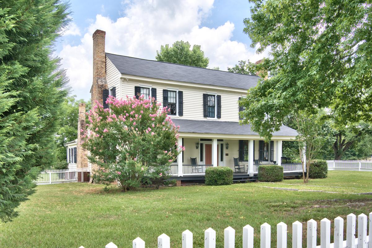 C. 1840 home exterior