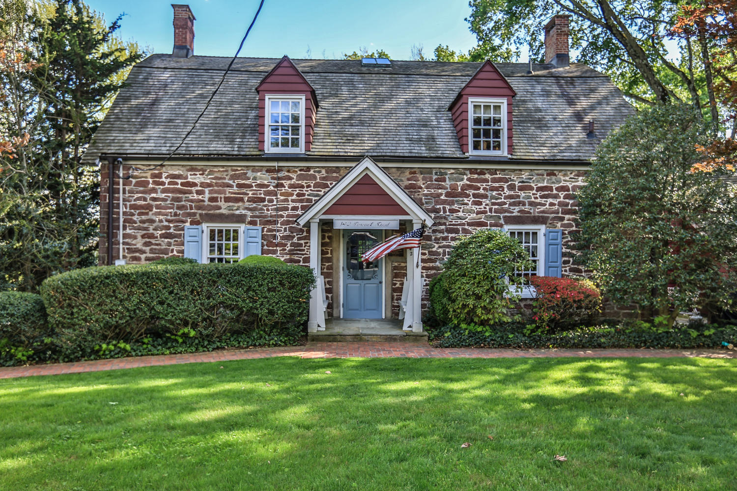 Sandstone dutch colonial for sale in park ridge for Dutch colonial house for sale