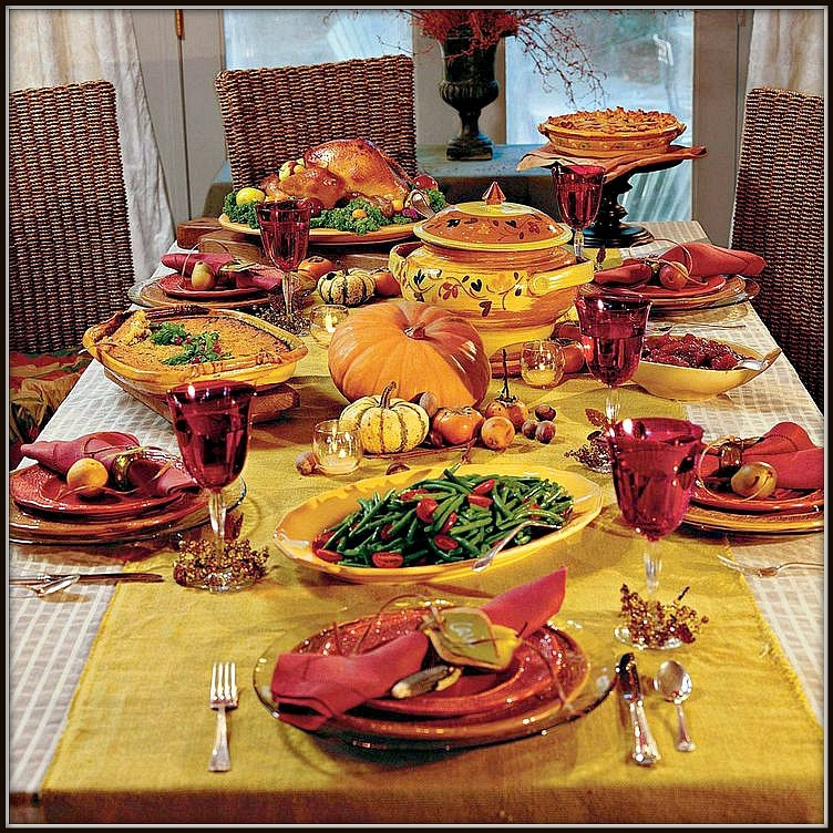 A Bit Of History On The Traditional Thanksgiving Dishes