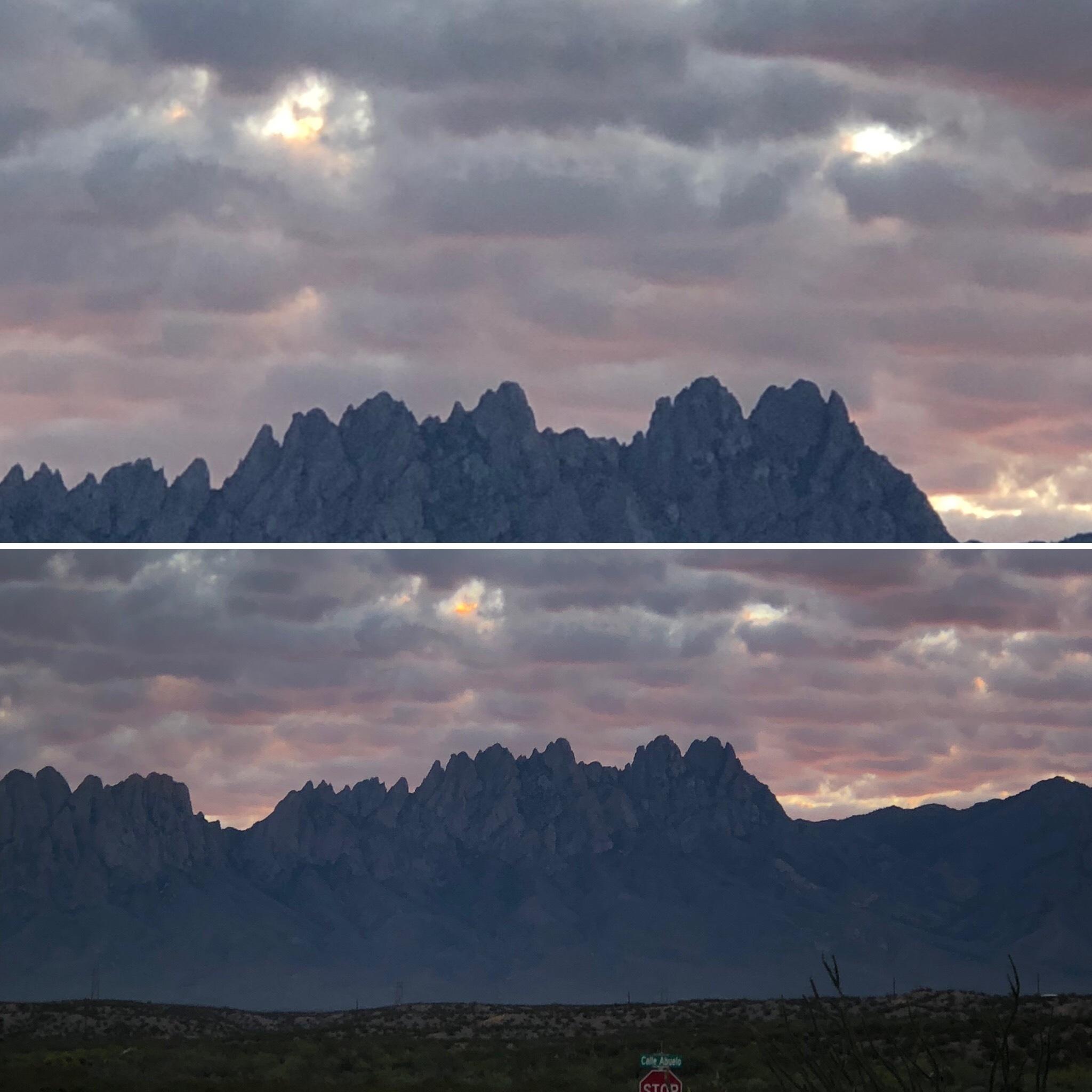 image of organ mountains