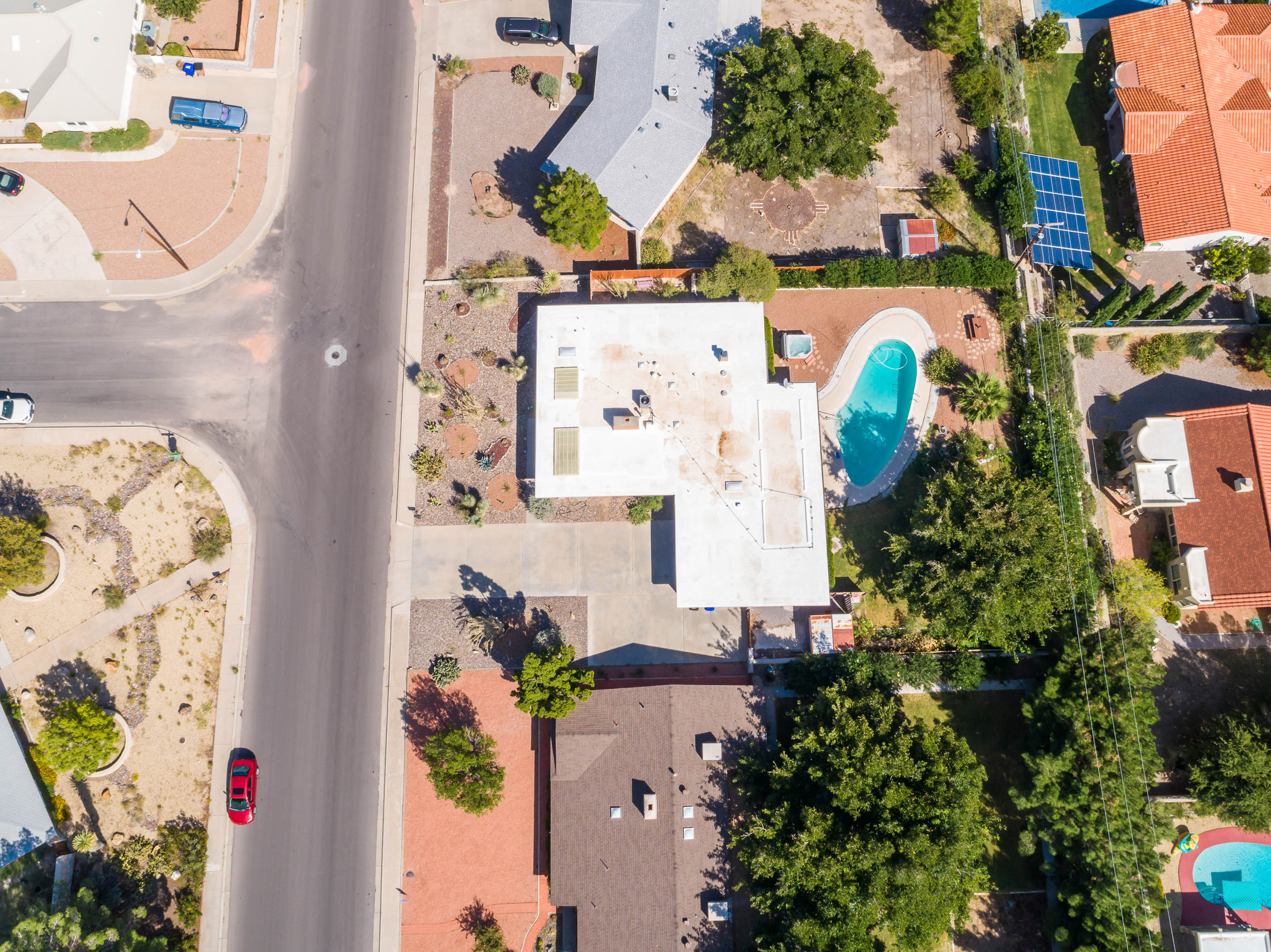 image of arial photo of 3045 fairway drive