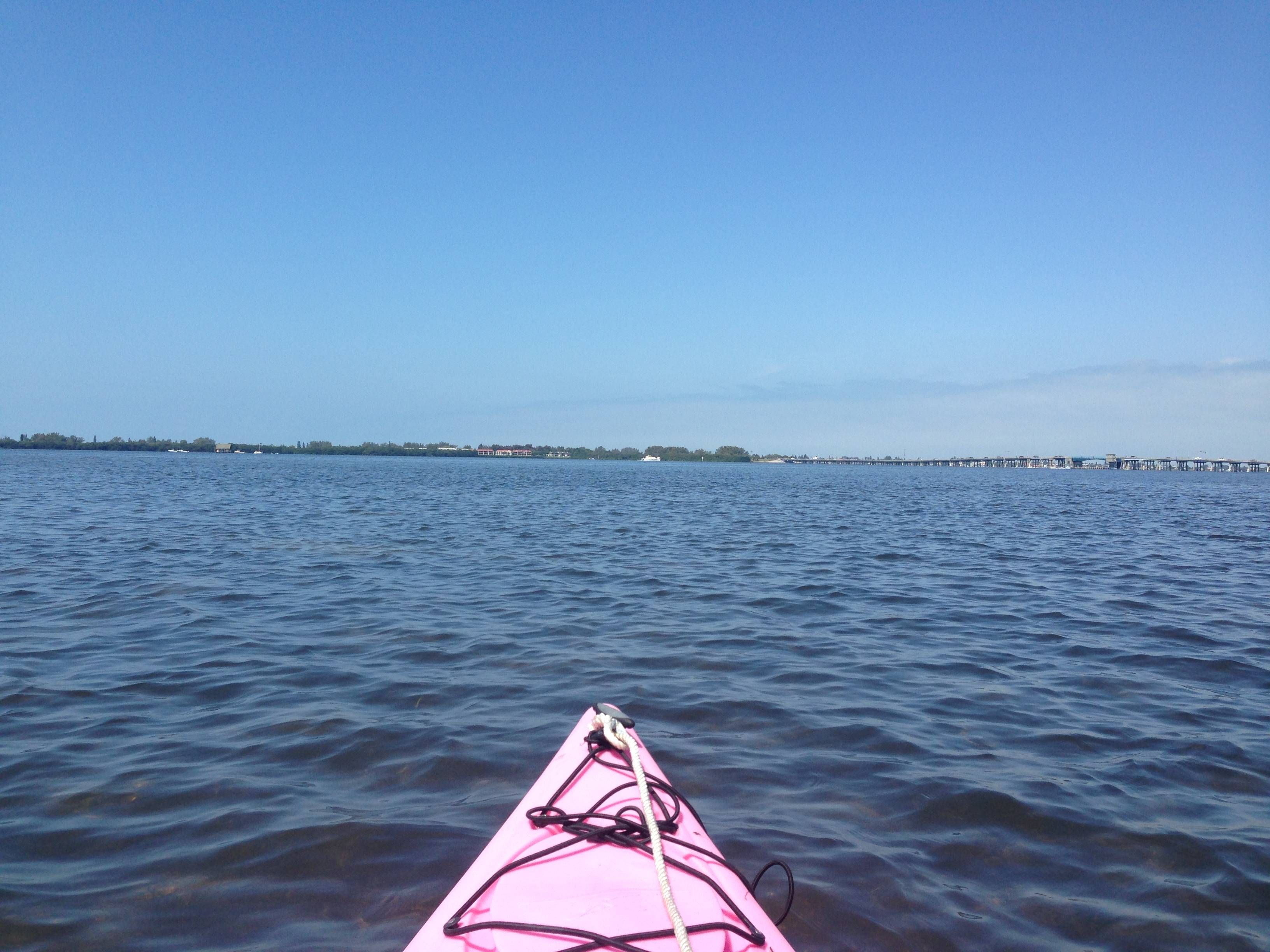 kayak on Anna Maria Island