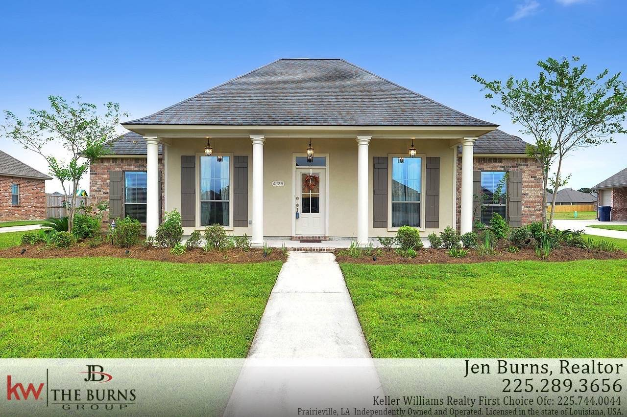 4235 monte vista dr addis la 70710 must see beautiful 3 bedroom 2 bath home in sugar mill plantation this one owner home has a great open floor plan and is in pristine condition