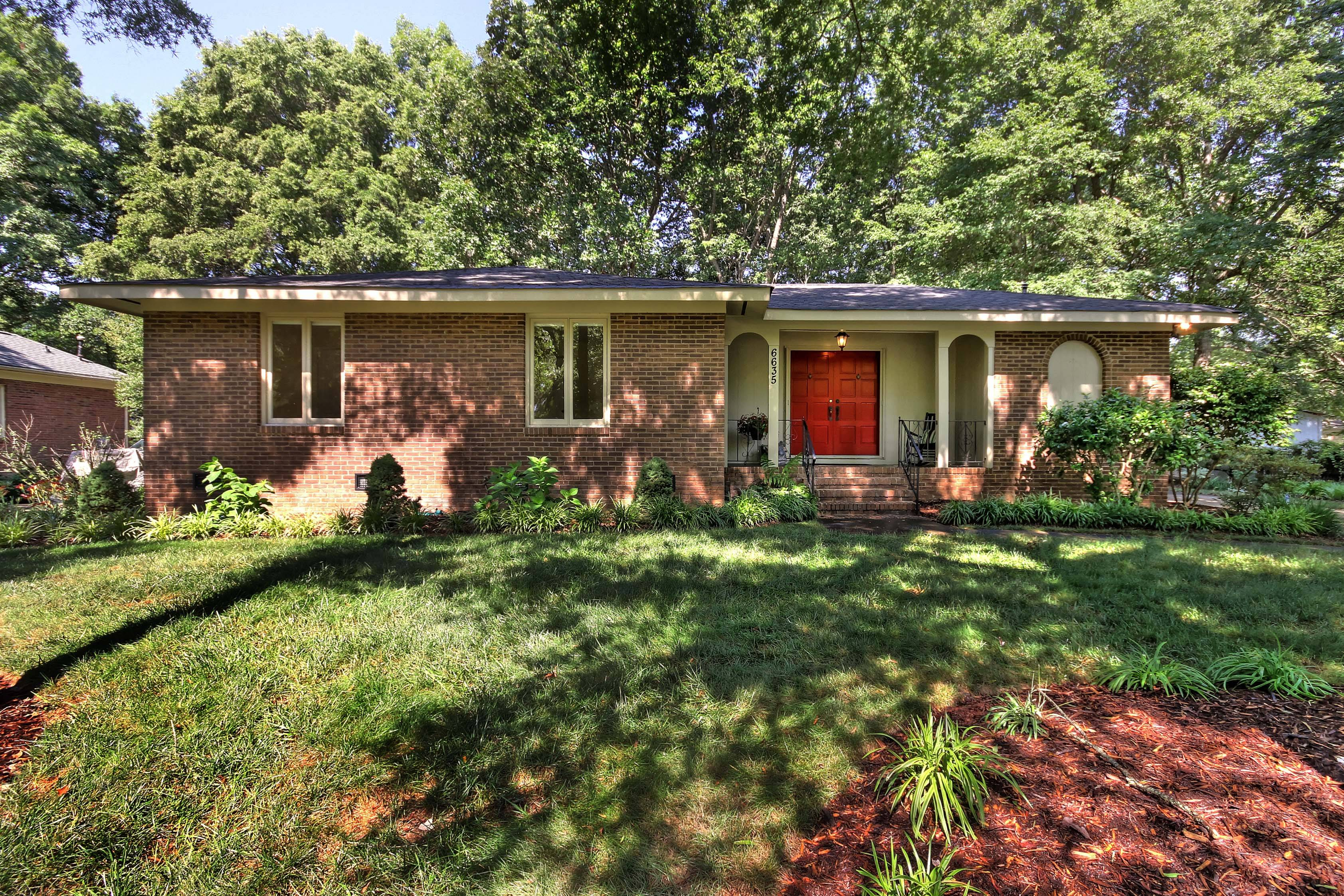 Brick ranch for sale at 6635 olde savannah rd charlott for Shome home