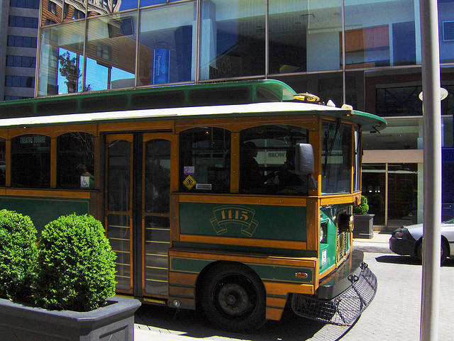 Trolley in Louisville
