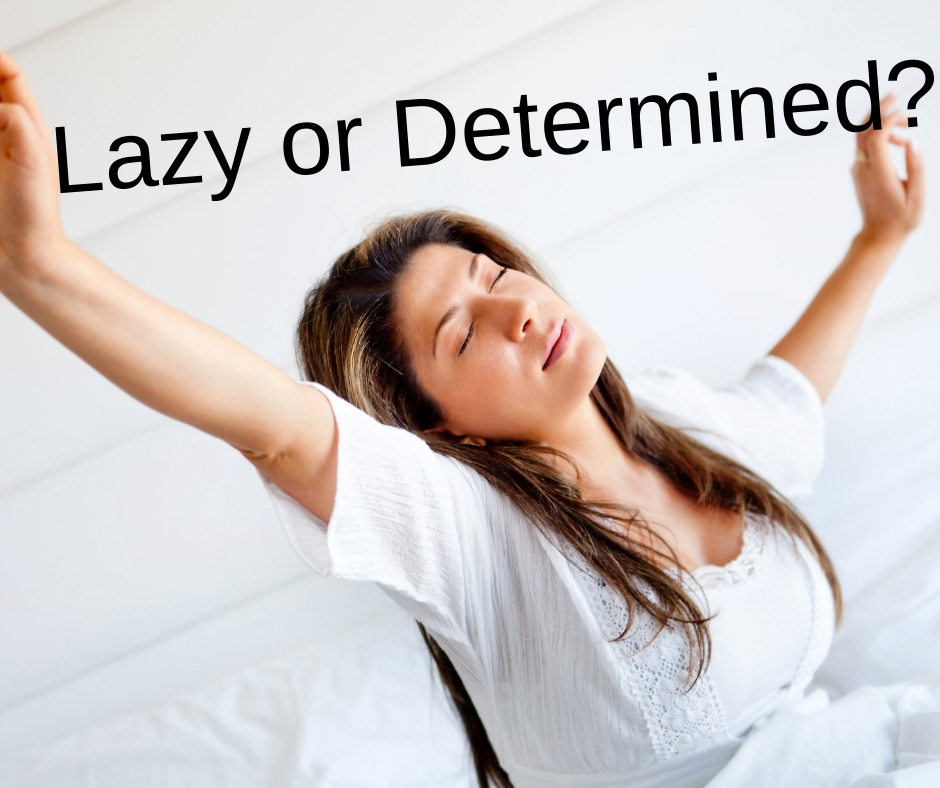 lazy or determined