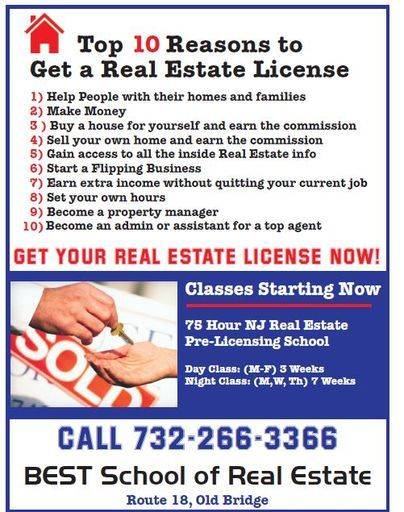 Get Your Real Estate License On Line Via Live Zoom In New ...