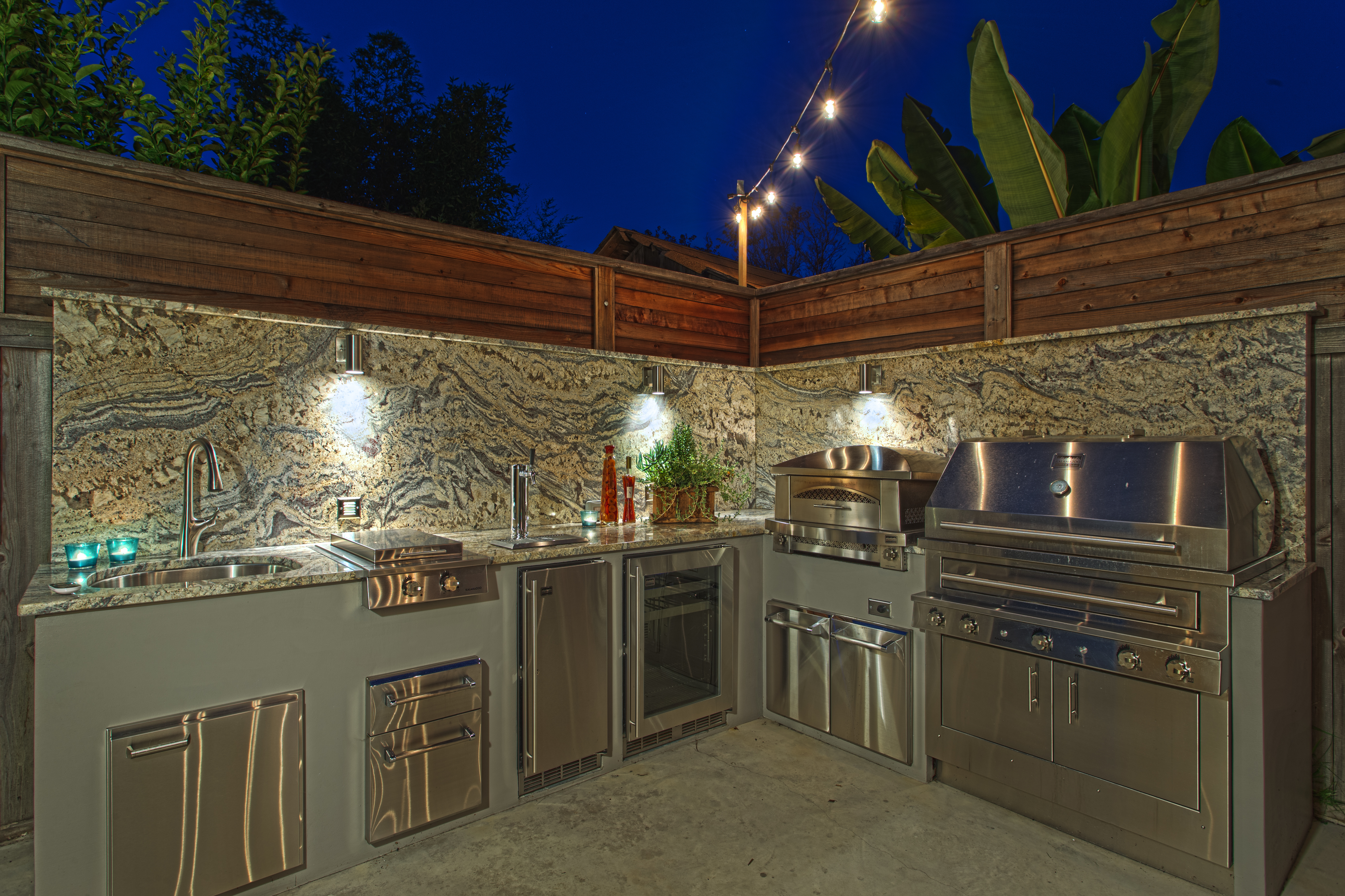 santa cruz outdoor kitchen