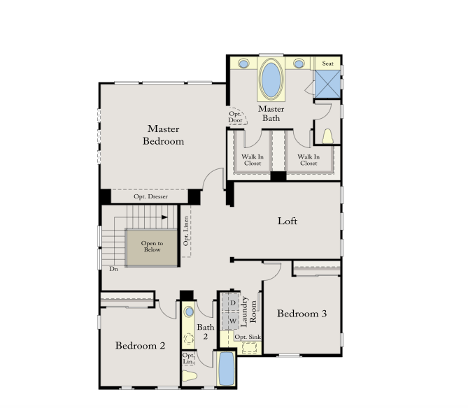 Villagio at the Promontory Residence 4 Floor Plan