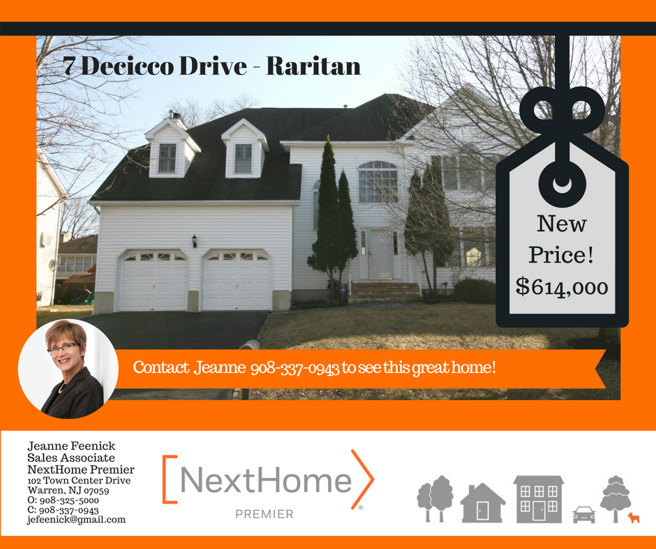 7 Decicco Dr Price Adjustment