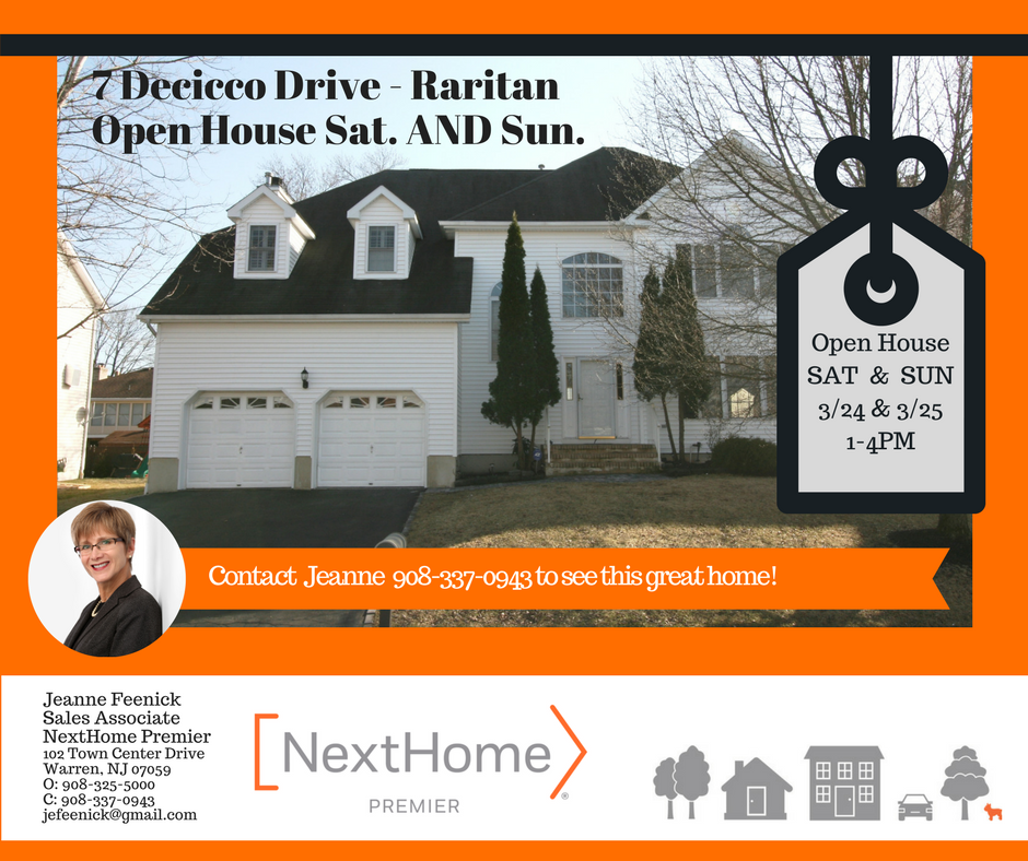 7 Decicco Dr. double Open House