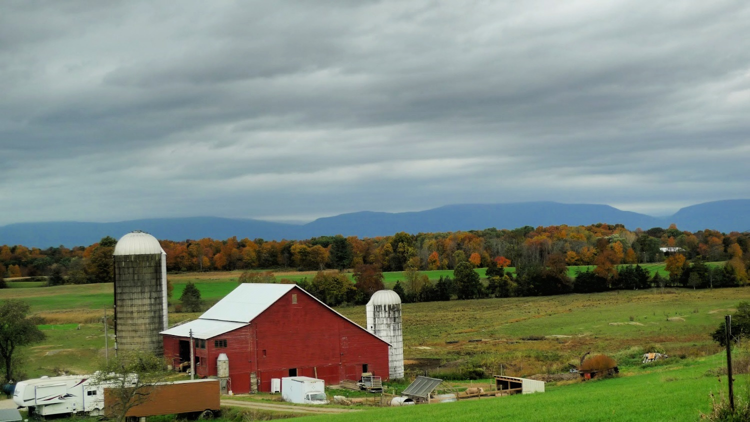 Fall colors in the Mid Hudson Valley