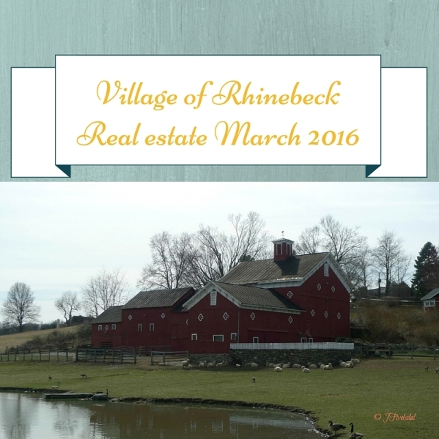 Village of Rhinebeck NY real estate