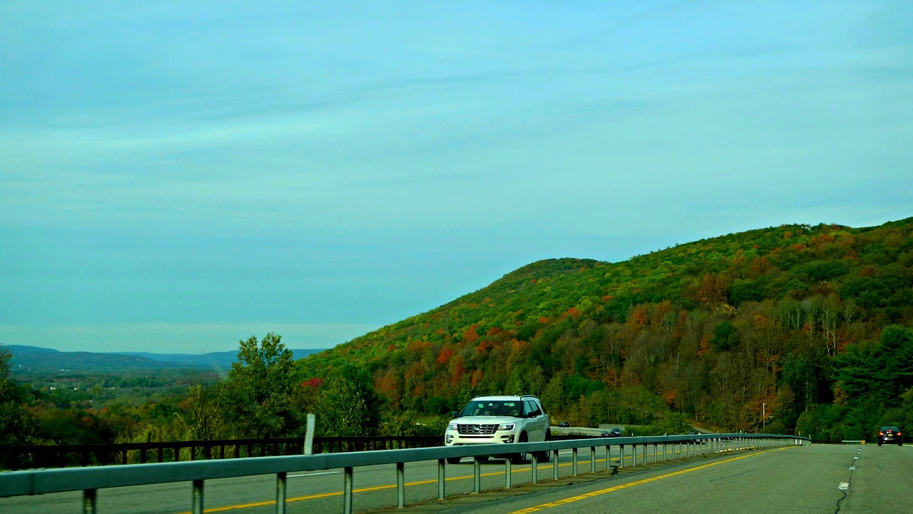 Taconic State Parkway in the Fall