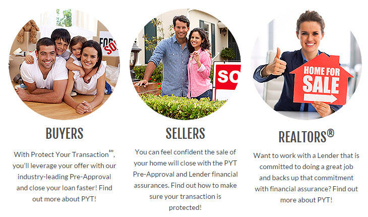 Protect Your Transaction (PYT) - www.GordonMortgage.com