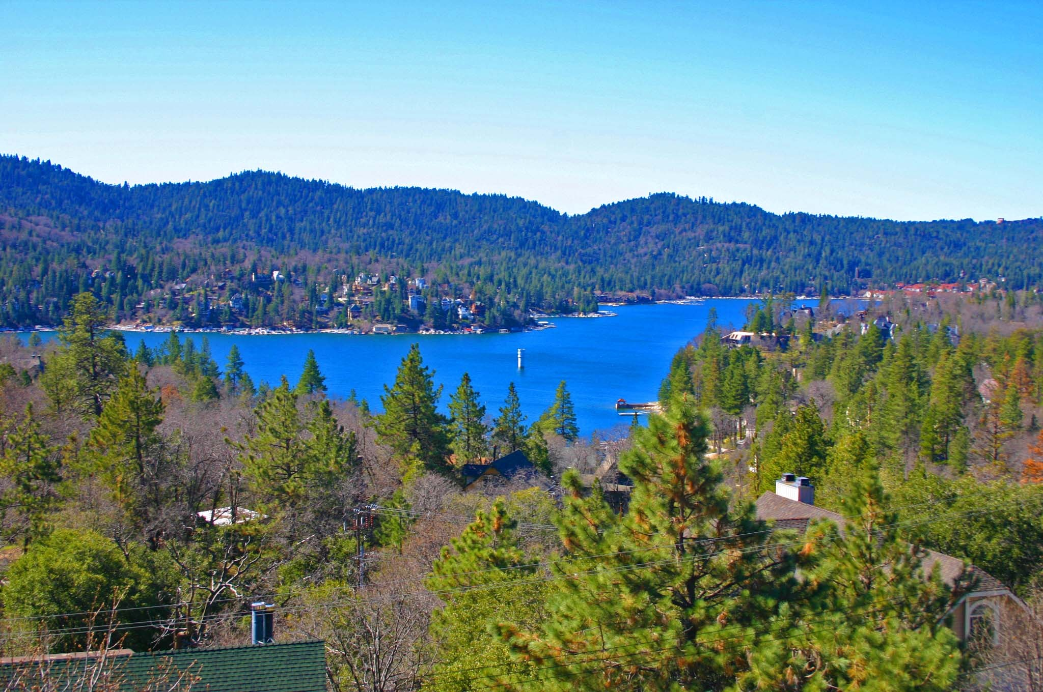 Lakeview Home with Level Entry - Lake Arrowhead, CA