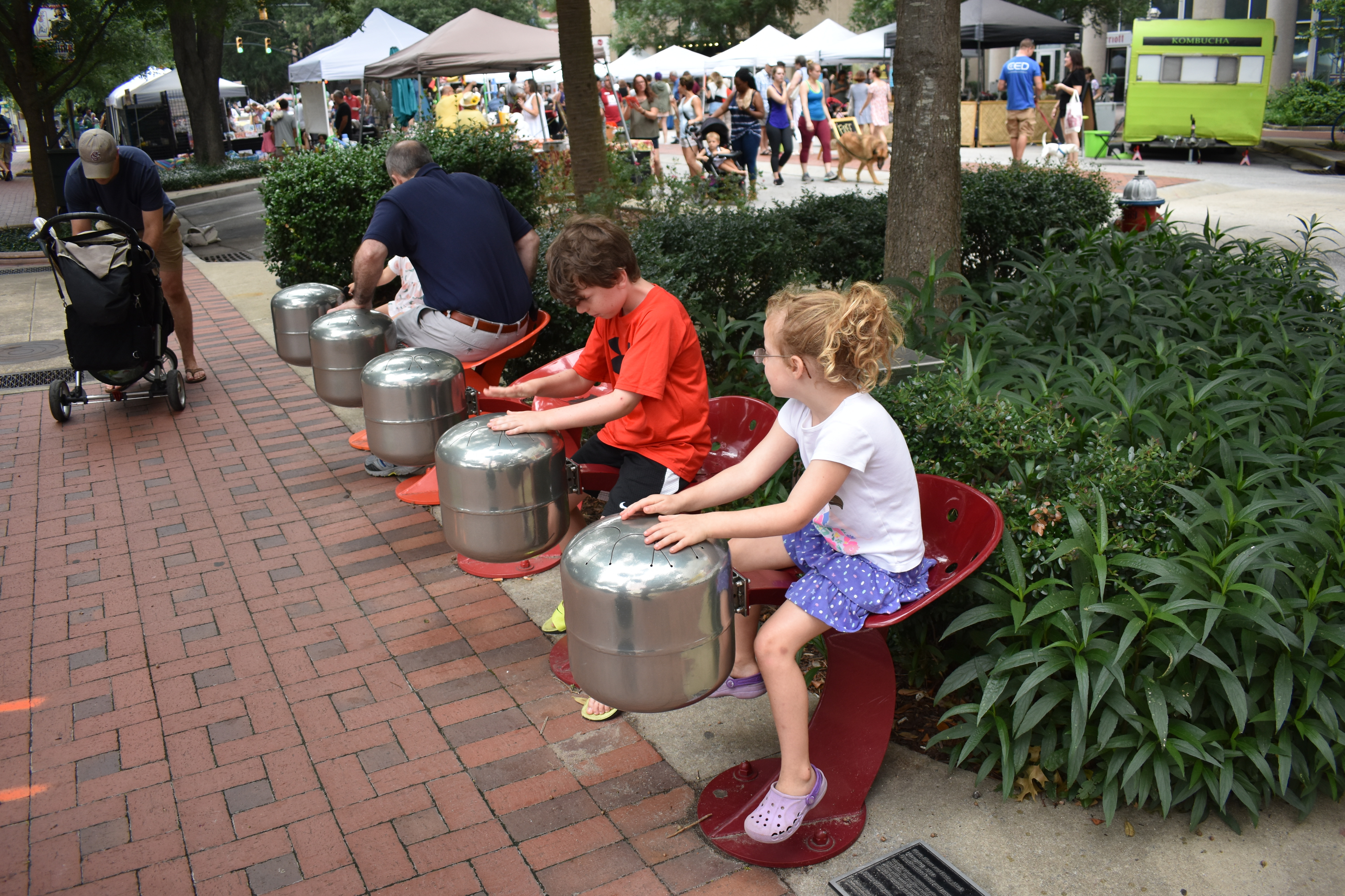 Steel Drums on Main Street