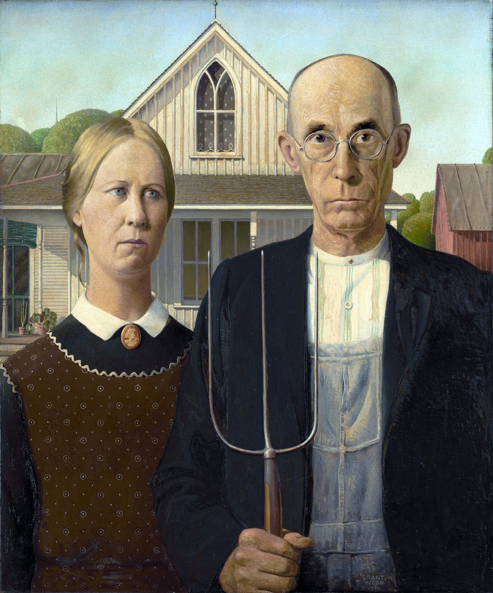 American Gothic Bank of Mom and Dad