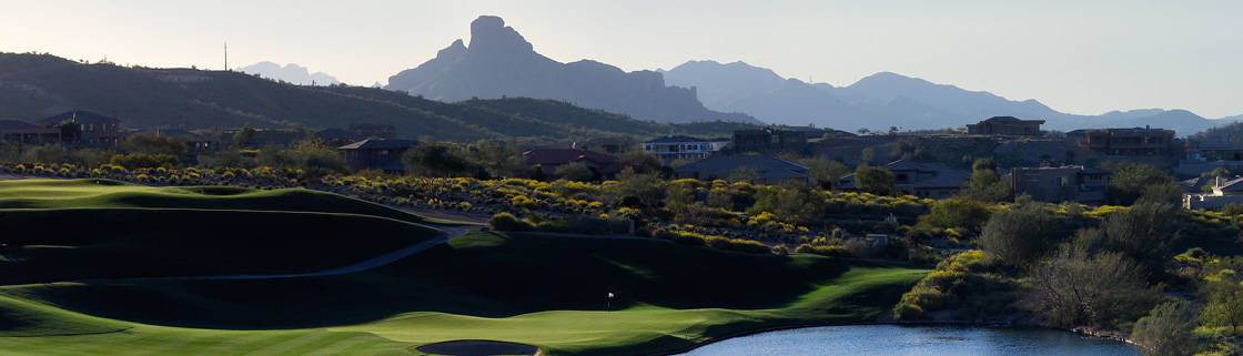 Fountain Hills golf and Red Mountain