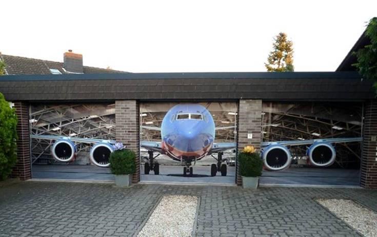 hangar garage
