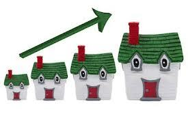 house prices going up