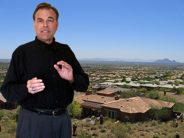 Jeff Masich showing homes in Scottsdale
