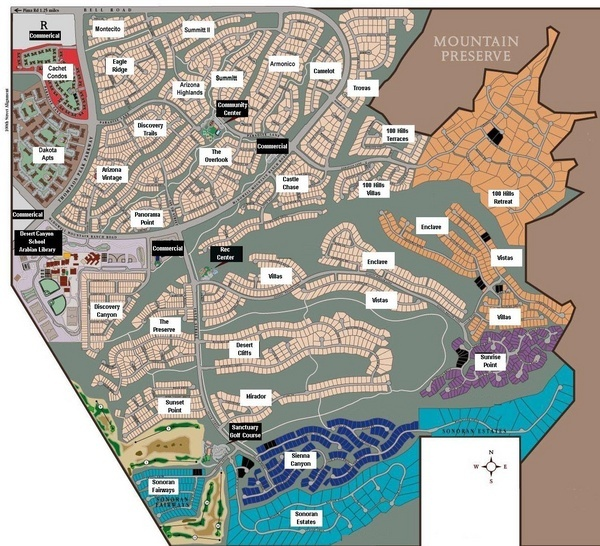 McDowell Mountain Ranch Map